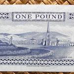 Isla de Man 1 pound 1991 reverso