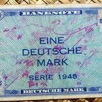 Alemania Ocup. Aliada postWWII  1 marco 1948 billete militar