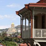 Santisima Trinidad desde baslconadas clasicas Old Tbilisi