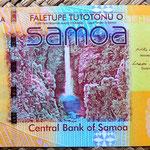 Samoa 20 tala 2008 reverso