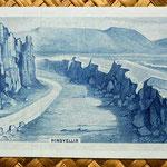 Islandia 1000 coronas 1961 reverso