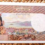 Polinesia francesa 100 francos 1996  reverso