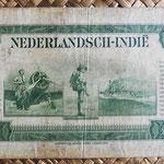Indias Holandesas 10 gulden 1943 reverso
