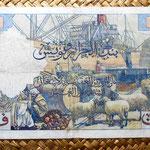 Argelia francesa 10000 francos 1957 reverso