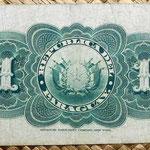 Paraguay 1 peso fuerte 1903 reverso