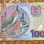 Surinam 10000 gulden 2000 anverso