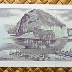 Islandia 25 coronas 1961 reverso
