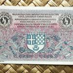 Reino de Serbia, Croacia y Eslovenia 0,50 dinar 919 anverso