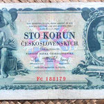 Checoslovaquia 100 korun 1931 anverso