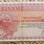 Surinam 2,5 gulden 1967 anverso