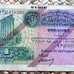 Siria 1 libra 1939 anverso