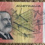 Australia 20 dollars 1989 pk.46f reverso