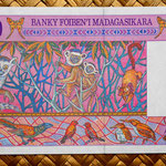 Madagascar 5000 francos - 1000 ariary 1995 pk.78 reverso