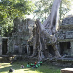 desde el Templo de Preah Khan I