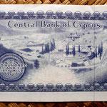 Chipre 250 mils 1982 reverso
