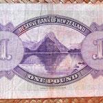 Nueva Zelanda colonia británica 1933 reverso