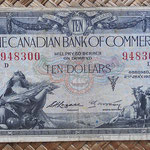 Canada 10 dollar 1935 CBCommerce anverso