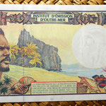 Polinesia francesa 500 francos 1996  reverso