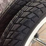 タイヤパターンもよりスリックに近づきました!