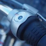 シマノの内装5段変速システム採用。より最適なギアが選べるんです!