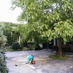 AREOLA im Sommer.... gemütlich im Innenhof