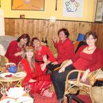 Und die red ladys beim verdienten Feiern!!