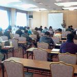 2011/11/6指導者講習会(理論)の様子。皆さん合格祈ります。