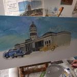 AtelierMo Workshop Acryl Teilnehmerarbeit