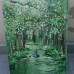 AtelierMo Kurs Zauberwald ( Arbeit einer Teilnehmerin )