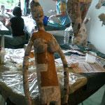 AtelierMo Workshop Figur Pappmaché