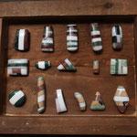 pendentifs en pierre composés