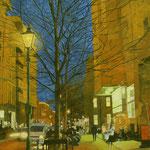 《12月の灯り》 117×91cm 2009 第43回日春展
