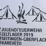 Logo des Zeltlagers 2019