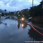 Wasserversorgung aus der Gunningerstraße wird aufgebaut