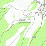 Meilerplätze an der Sächsischen Landwehr zw. Wiedersbach und Schwarzbach