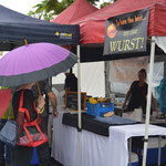 Nerang markets, rainy day so not busy