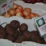 Beetroot at Nerang markets