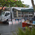 Seafood truck at Nerang Markets