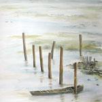 Texel, aquarel