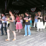 ...beim Tanzen in Zehbitz