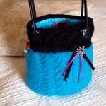 Trachtentasche in türkis