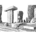 Estudio-Necropolis-011 - Dibujo sobre papel 36cm X 27cm
