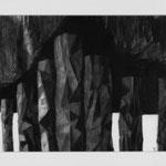 Estudio-Necropolis-020 -  Dibujo y tinta sobre papel 41cm X 35m