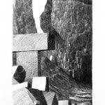 Estudio-Necropolis-016 - Dibujo y tinta sobre papel 50cm X 23cm