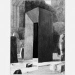 Estudio-Necropolis-014 - Dibujo y tinta sobre papel 35cm X 27cm