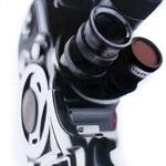 """""""Bolex Super 8mm"""" Oleo sobre tela 130cm X 58cm"""