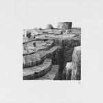 Estudio-Necropolis-05 - Dibujo sobre papel 27cm X 27cm