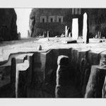 Estudio-Necropolis-021 - Dibujo y tinta sobre papel 110cm X 72cm