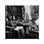 Estudio-Necropolis-025 - Xilografia Grabado sobre madera 29cm X 27cm
