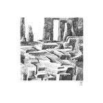 Estudio-Necropolis-04 - Dibujo sobre papel 27cm X 27cm